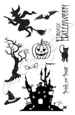 Tampons décoratifs Halloween A5